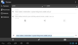 Tłumacz Google w wersji offline